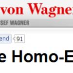 Liebe Homo-Ehe!